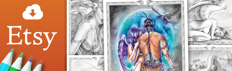 Etsy_Banner by Michelle Tracey Fantasy Art
