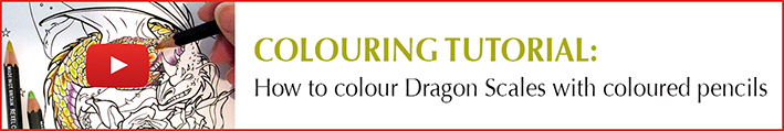 How to Colour Dragon Scales_Thumbnail by Michelle Tracey