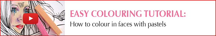 How to colour in faces with pastels_Thumbnail